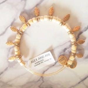 Alex and Ani Spearhead Sunlight Adjust Bracelet